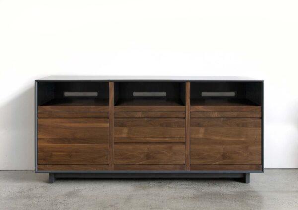 AERO Solid Wood LP Media Cabinet