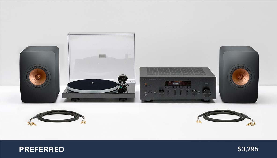 Preferred Component Turntable Package